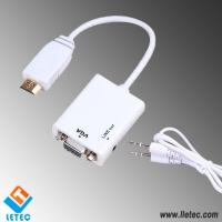 LM016 HDMI - VGA + Audio(DC3.5mm) M/M Adapter cable
