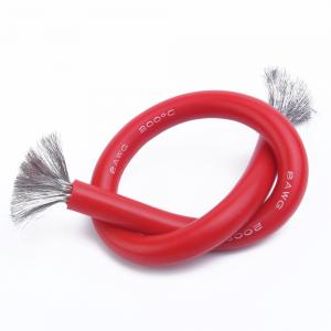 China Fireproof 250C Silicone Rubber Insulated Wire 18 AWG UL3251  Abrasion Proof on sale