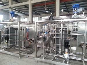China Autoclave UHT Food Sterilization Equipment  Flash Pasteurizer For Juice on sale