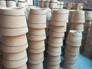 Quality Special Shape Bottom Pour Runner Bricks For Ingot Steel Casting Industry / Fireclay Refractories for sale