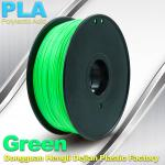 Customorized Green 3mm PLA 3d Printer Filament  100% biodegradable