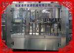 3-In-1 Automatic Juice Bottle Filling Machine 7.68kW Juice Bottling Equipment