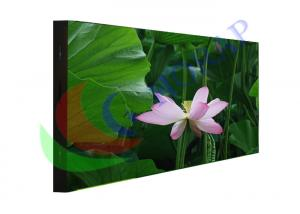 China HD 4mm led big screen Iron Steel Cabinet , Floor standing outdoor digital signage on sale