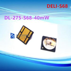 China 275NM 6.8V UVC LED Lamp Dual Chip DL-275-S68 40mW 90 Degree Luminescence on sale