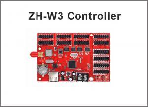 China Zhonghang wifi control ZH-W3 USB & WIFI 4*HUB08+8*HUB12 2048*32 Single & Dual color LED controller card on sale