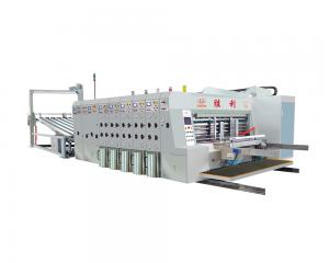 China Industrial Flexo Printing And Die Cutting Machine For Corrugated Carton on sale
