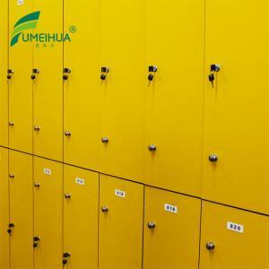 China 2 tiers high pressure laminate Electronic Smart Storage Doors Self Service Laundry Locker on sale