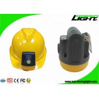10000lux Safety Cordless Miner Cap Lights 3.8Ah Battery Capacity Support USB Charging IP68 Explosion-proof