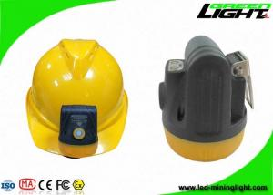 China 10000lux Safety Cordless Miner Cap Lights 3.8Ah Battery Capacity Support USB Charging IP68 Explosion-proof on sale