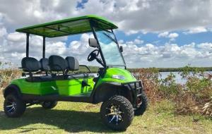 Electric Club Car 4 Seater Golf Cart For Sale 4 Seater Golf Cart