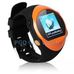 China Custom SOS GPS Watch for Elderly / Kid Security with GEO Fence Alarm, Alarm Clock on sale