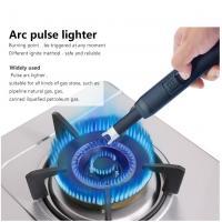 China Double Arc Pluse Usb Plasma ARC Lighter Zinc Alloy Eco Friendly 34*73*11MM Size on sale