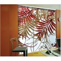 Unique Interior Decorative Glass Doors / Art Glass Door For Glass Mural Walls