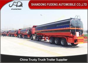 China Bitumen / Liquid Asphalt Trailers With Volume Optional WABCO Valve on sale