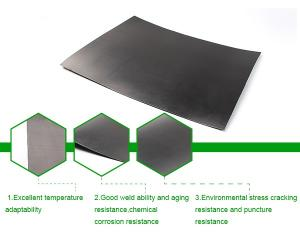 China Smooth Waterproofing HDPE Sheet, PVC Lining Imported From China on sale