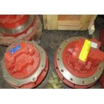 赤く最終的なドライブ アセンブリ TM07VC-01 ヒュンダイ R60-7 掘削機の本物モーター