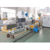 Waste Plastic Recycling Pelletizing Machine , Single Screw Plastic Pelletizing Equipment