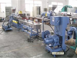China PE PP Plastic Granules Machine , Waste Film Recycling Granule Machine on sale