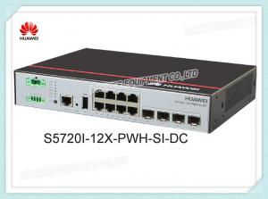 China Huawei Switch S5720I-12X-PWH-SI-DC 8 X 1000 Ports 4 X 10GE SFP+ Ports 1 DC Power on sale