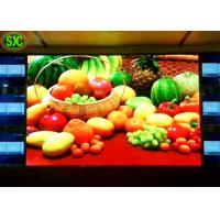 China Plastic Indoor Led Advertising Screen , Aluminum Decorative P3 Led Display on sale
