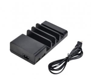 China 60W 4 Port Desktop Rapid USB Wall Charger / Tablet Charging Station For School on sale