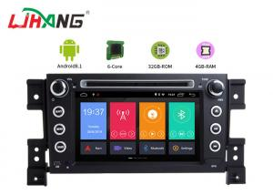 China GPS Navigation SUZUKI Car DVD Player Bluetooth - Enabled PX6 RK3399 Cortex-A72 Eight Core on sale