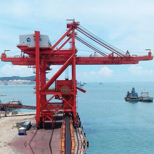 China Ship To Shore Gantry Crane On Boat Ship To Shore STS 20 M 30 M 35m Span on sale