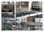 Continuous Pressing Frying Fried Instant Noodle Making Machine Commercial Stainless Steel