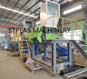 China Economic high capacity PET Recycling Machine Hot PET Bottle Flakes Washing Line on sale
