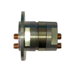 China 2 Channels RF Rotary Joints Rotary Union High Frequency Slip Ring Small Size for Monitoring and Vehicle Turrets on sale