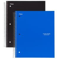 China custom cheap spiral notebook printing with color pages,cheap spiral notebook with color pages on sale