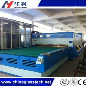 China Flat And Curve Fan Convection Glass Tempering  Furnace on sale