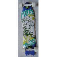 8 piy Canadian Maple Skateboard , Fish Board Skateboard Customized 37 * 9.5 inch