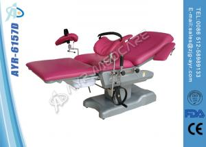 China Multi Purpose Integrative Hydraulic Gynecologic Obstetric Bed With filth 14L basin on sale