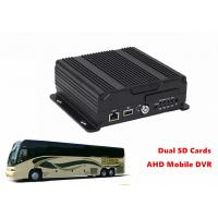 Remote Management Dual SD Card Mobile DVR 4G GPS WIFI 4CH AHD 720P Recording