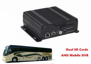 China Remote Management Dual SD Card Mobile DVR 4G GPS WIFI 4CH AHD 720P Recording on sale