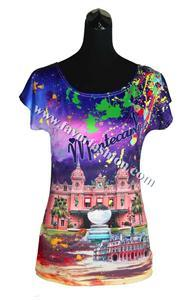 China Favor Fashion Souvenir T shirt with Sublimation Printing on sale