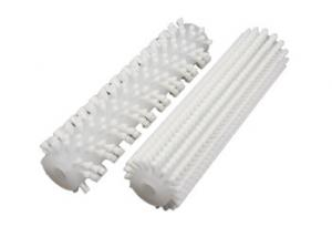 China Dry Cleaning Solar Panel Cleaning Brush Glass Clean Nylon Roller Brush Rotary Type on sale