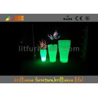 Light up flower pots&illuminated planter&garden furniture