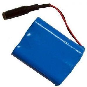 China Высококачественный блок батарей Ли-иона 18650 11.1В 3.4Ах с полной защитой и соединителем on sale