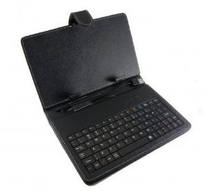 China USB Tablet PC Leather Keyboard Case  on sale