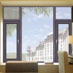 China Powder Coated SurfaceCustom Aluminium Windows For Housing Series wholesale