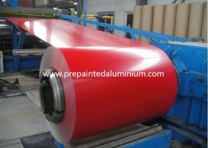 China color coated Aluminium Coil used for roofing , thickness 0.1-2.5mm on sale