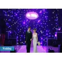 LED Curtain Lights 4X3M LED Stage Drape Starry Starlit Party Curtain Backdrop Wedding Background