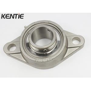 China 420 Stainless Steel 2 Bolt Flange Bearing , Industry Trap SUCFL209 Metric Pillow Block Bearings on sale