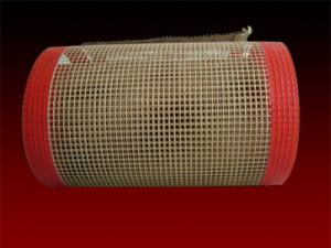 China PTFE conveyor belts for textile infrared heaters  conveyor dryers and ovens 4*4mm open mesh on sale