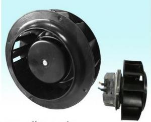 China 175mm DC Brushless Motor Backward Curved Centrifugal Fan With Plastic Impeller on sale