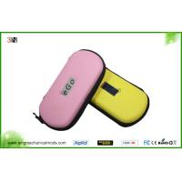 Leather Ego Zipper Case Electronic Cigarette Accessories in Pink , Yellow , Red , Green