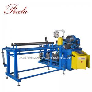 China Round pipe spiro tube former spiral air duct forming machine on sale