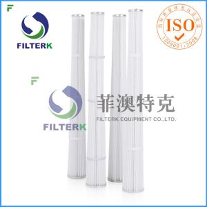 China Blower Industrial Air Filter Cartridge Cylindrical Thread Construction on sale